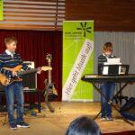 E-Gitarren on stage