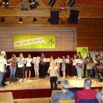 Holzbläser on stage