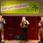 Blechbläser on stage